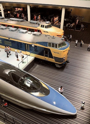 本館車両展示@京都鉄道博物館'16.7.19