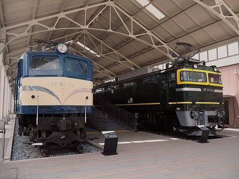 EF58-150&EF81-103@京都鉄道博物館'16.7.19