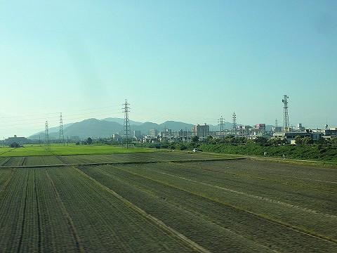 近江八幡市方向@のぞみ242号車内'16.7.19