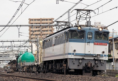 EF65-2091@宮原'16.8.20