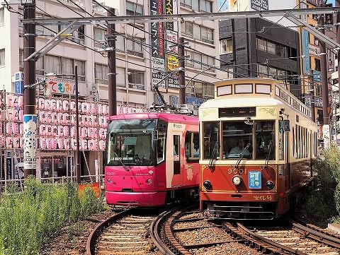都電8800形&9000形@大塚駅前'16.8.26