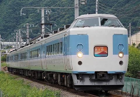 ホリデー快速富士山1号@赤坂'16.8.28