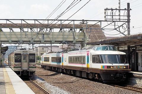 107系&485系@井野'16.9.3