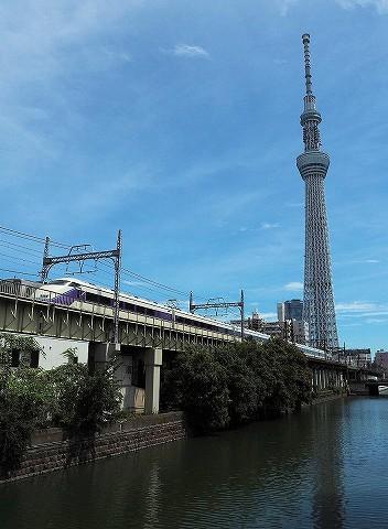 東武100系@とうきょうスカイツリー'16.9.6