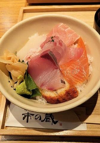 海鮮丼@近江町市場'16.9.16