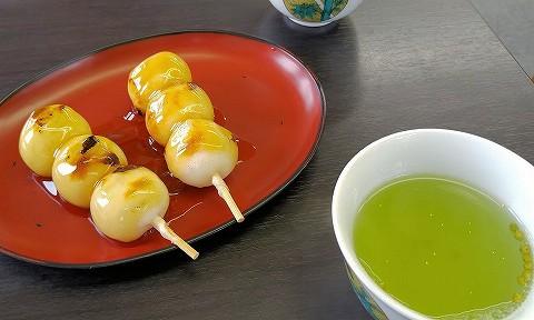 お茶とだんご@兼六園'16.9.16
