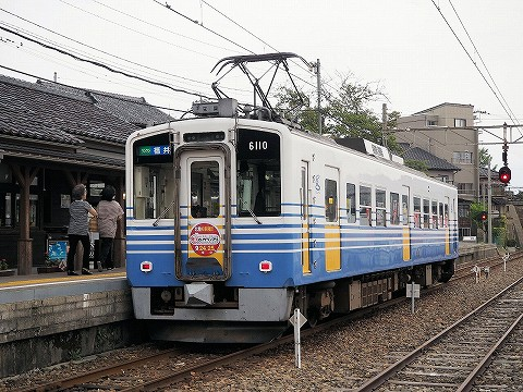 えちぜん鉄道MC6101形@三国港'16.9.17