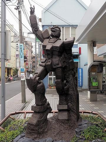 ガンダム像@上井草'16.9.27