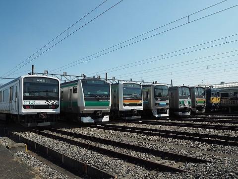 車両展示@川越車両センター'16.10.15