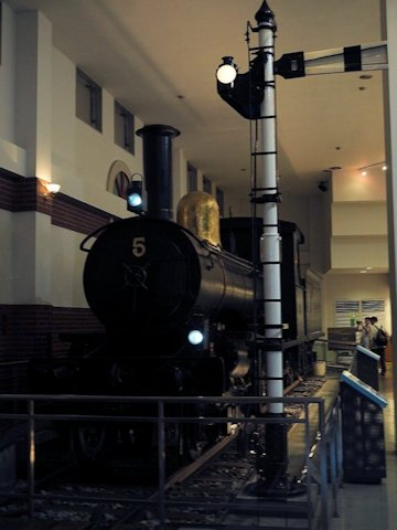B1型5号蒸気機関車@東武博物館'16.10.10
