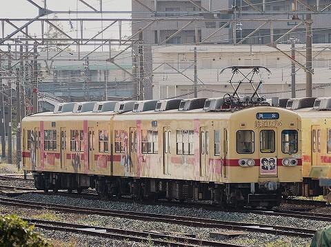 西鉄600形@貝塚'16.11.3