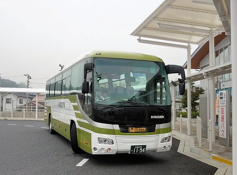 広電バス@三次駅前'16.11.4
