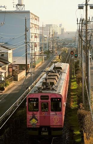 一畑電車1000系@松江しんじ湖温泉'16.11.5-1