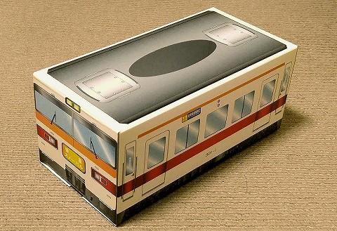 東武300系ティッシュボックス