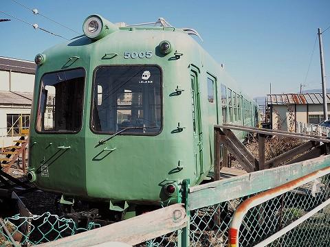松本電鉄5000系@新村'17.1.7