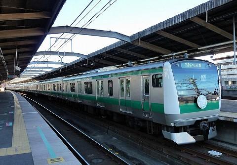 E233系@武蔵浦和'17.1.15
