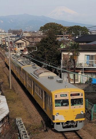 伊豆箱根鉄道1300系@三島二日町'17.2.18