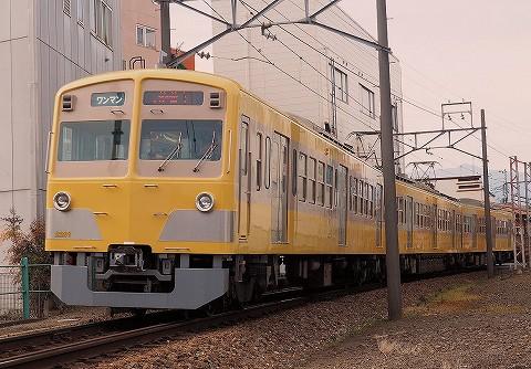 伊豆箱根鉄道1300系@三島広小路'17.2.18