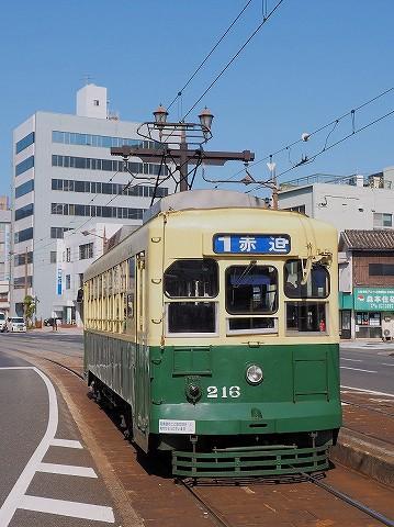 長崎電気軌道216@宝町'17.2.27