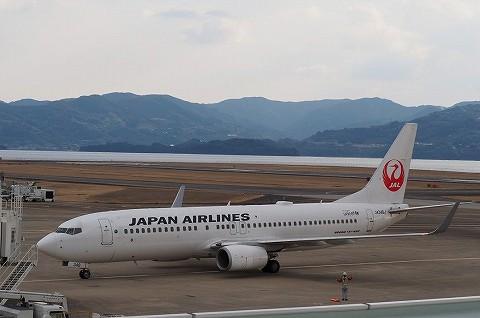 JLboeing737-800@長崎空港'17.2.27