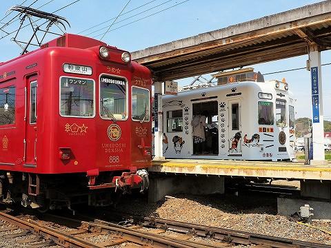 和歌山電鐵2270系@伊太祁曽'17.3.18-1