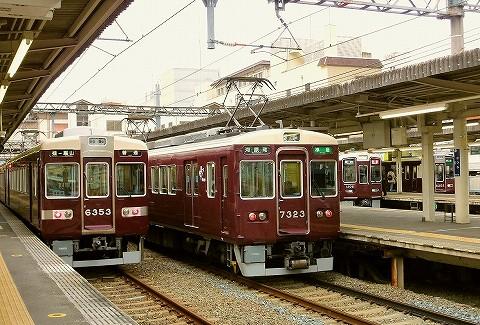 阪急6300系&7300系@桂'17.3.18