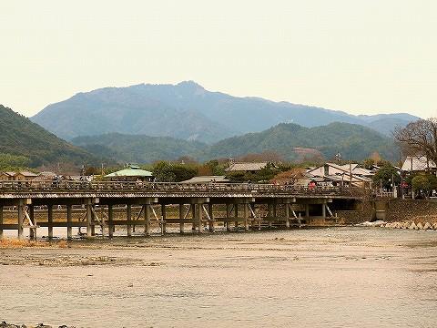 渡月橋@嵐山'17.3.18