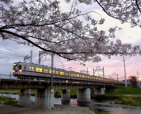 東武10000系@柳瀬川'17.4.12