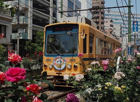 都電7000形@大塚駅前'17.5.21