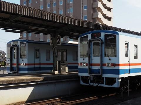 関東鉄道キハ2100形@水海道'17.5.22