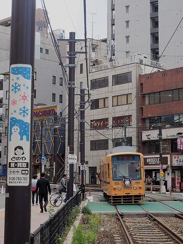 都電7000形@大塚駅前'17.6.4