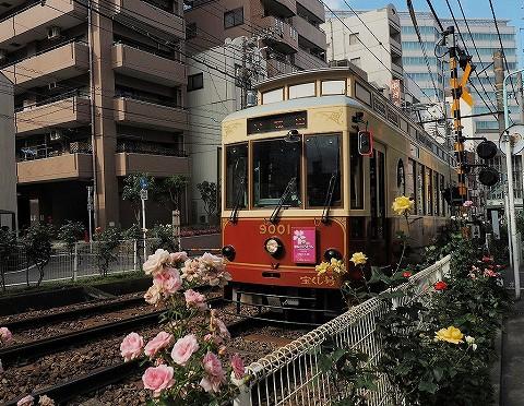 都電9000形@大塚駅前'17.6.4
