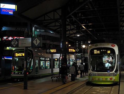 広島電鉄1000形@横川駅'17.6.9