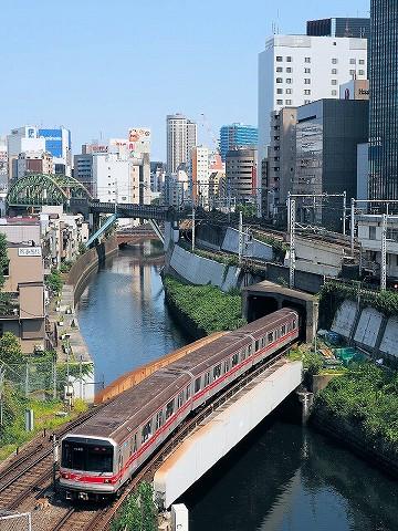 東京メトロ02系@御茶ノ水'17.7.9