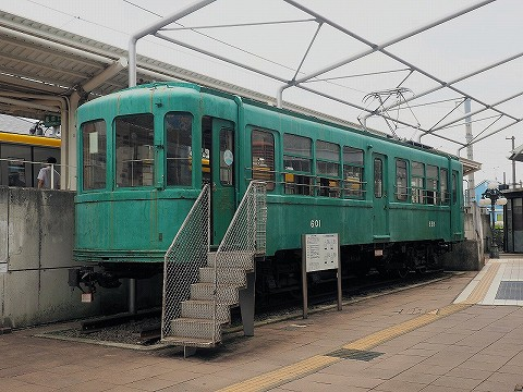 江ノ電601号@宮の坂'17.7.16
