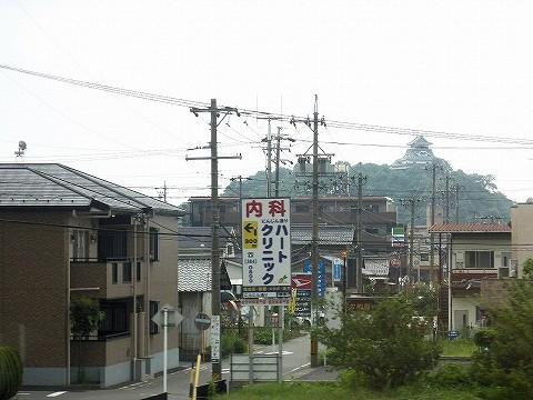 犬山城@ひだ5号車内'17.7.28