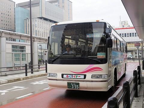 富山地方鉄道バス@高岡駅前'17.7.29