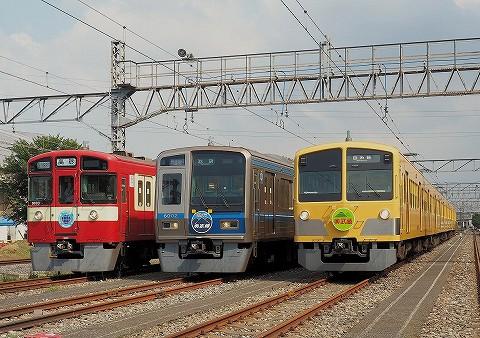 車両展示@南入曽車両基地電車夏祭り'17.8.19
