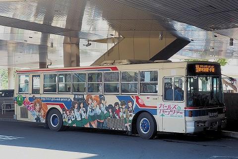 茨城交通バス@水戸駅北口'17.8.23