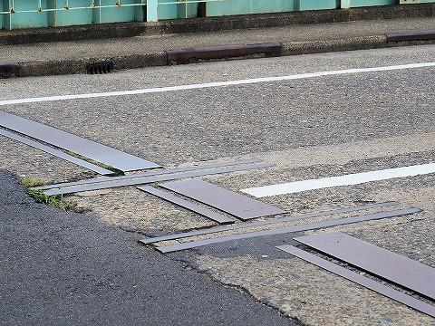 軌道跡@水門橋'17.8.23