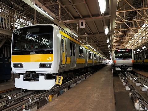 E231系&E233系@東京総合車両センター'17.8.26