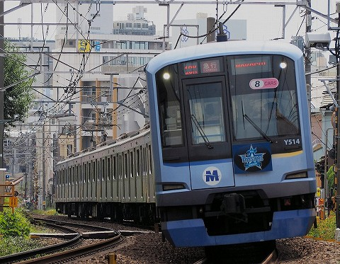 横浜高速鉄道Y500系@自由が丘'17.9.3