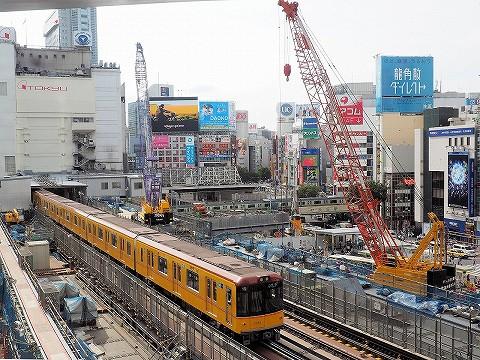 東京メトロ1000系@渋谷'17.9.15