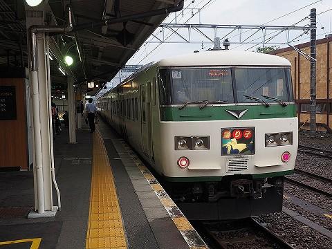 特急踊り子114号@三島'17.9.16