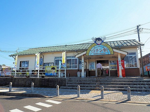 由良駅舎'17.9.30