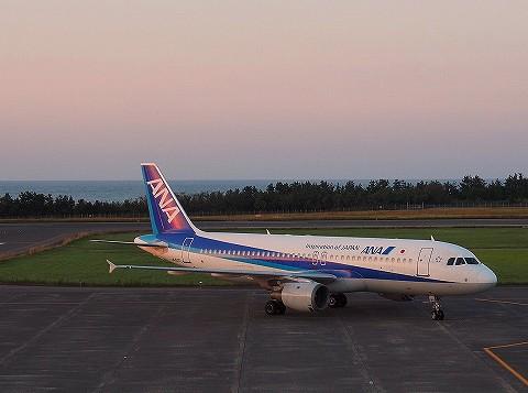 NHAirbus320‐200@鳥取空港'17.9.30