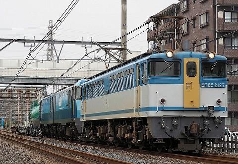 EF65‐2127@宮原'17.10.14