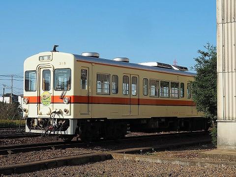 関東鉄道キハ310形@水海道車両基地'17.11.3