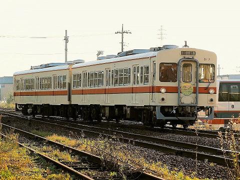 関東鉄道キハ310形@水海道'17.11.3