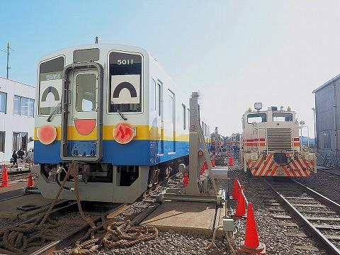 関東鉄道キハ5000形@水海道車両基地'17.11.3